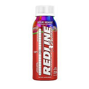 VPX Redline Xtreme Energy Drink 8 Fl oz RTD - BCAA's + Electrolytes - 6 Bottles