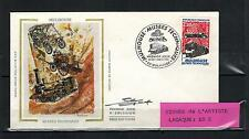 1986 -FDC 1°JOUR - SIGNEE - MUSEE TECHNIQUE - MULHOUSE - TIMBRE Yt. 2450