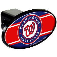"WASHINGTON NATIONALS  MLB TOW HITCH COVER car/truck/suv trailer 2"" receiver plug"
