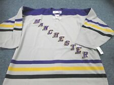 VINTAGE TEAM ISSUED REEBOK AHL MANCHESTER MONARCHS  AUTHENTIC JERSEY SIZE 56