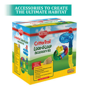 Kaytee CritterTrail Loop-D-Loop Accessory Kit 1ea    Free Shipping