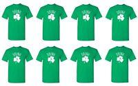 Drunk 1, 2, 3 T Shirt Saint Patrick's Day Tee Clover Irish Shamrock Oktoberfest