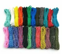 100FT Dia.4mm 7 stand Cores Paracord for Survival Parachute Cord Lanyard Camping