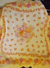 Vintage Laura Ashley Floral Summer Print 100% Cotton Scarf  Italy