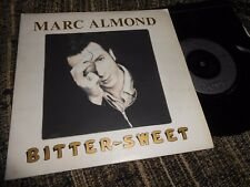 """MARC ALMOND BITTER SWEET/KING OF THE FOOLS 7"""" 1988 GATEFOLD  PARLOPHONE"""