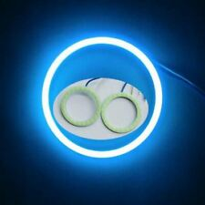 2X 5Watt Ice Blue 50mm 30leds Car Small COB LED Angel Eyes Halo Ring Light 9-24V