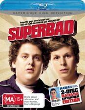 Superbad: Extended Version - Blu-ray, 2008, 2-Disc Set (VGC) Aus Region B