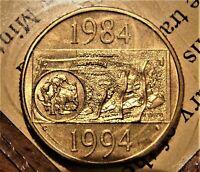 1994 Australia $1 UNC Coin Melbourne Royal Easter Show Special