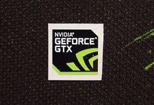 New Nvidia GeForce GTX Sticker 17.5 x 17.5mm Genuine Case Badge USA Seller!