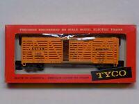 Mantua TYCO Red Box HO Scale T312A Missouri Pacific Stock Model Train Car