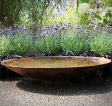 Ø 60 cm - Ø 200 cm Wasserschale aus CORTENSTAHL,Wasserspiel, Gartenbrunnen