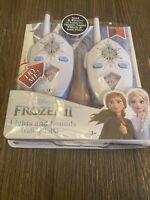 Frozen 2 Walkie Talkies for Kids, 2 Way Radio Long Range with Flashing Lights...