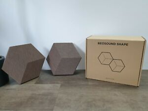 GENUINE Bang & Olufsen / B&O BeoSound Shape Covers - Brown by Kvadrat - RRP £225