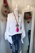 Frühling Damen-Pullover & -Strickware mit U-Ausschnitt