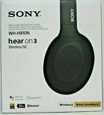 Sony h.ear on 3 Wireless Noise Canceling Headphones Black Wh-H910N