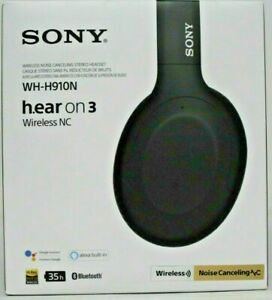 Nice In Box Sony h.ear on 3 Wireless Noise Canceling Headphones Black WH-H910N