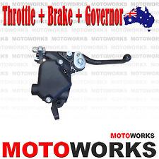 22mm Thumb Throttle Twin Brake Lever Speed Governor 49cc Mini Kids Quad Bike ATV