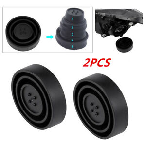 Universal Seal Cap Dust Cover 5 Sizes For Car Headlight LED HID Lamp Accessories