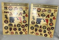 2 Major League Baseball Team Logo 2 Pocket School Folders Features All 30 Teams