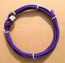 Purple 20 ft jr kids little looper rodeo youth roping rope western lasso lariat