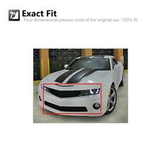 Black Billet Grille Combo Insert Upper+Lower Bumper For Chevy Camaro SS V8 10-13