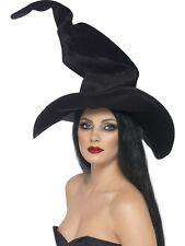 Le Streghe Cappello Alto Tortuosa Per Adulti Da Donna Smiffys Costume Accessorio