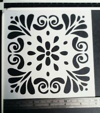 Flower Mandala Stencil Scrapbooking Card Making Airbrush Painting Home Decor #1