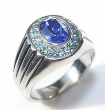 Oval Sapphire Costume Rings