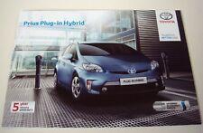 Toyota. PRIUS. Toyota Prius hybride plug-in. JUILLET 2012 sales brochure
