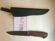 "Damascus Steel Custom Handmade Knife ""Murena"" by Nazarov"