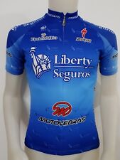 MAGLIA SHIRT CICLISMO LIBERTY SEGUROS SPECIALIZED TAG.S/2 BIKE CYCLING MTB MB277