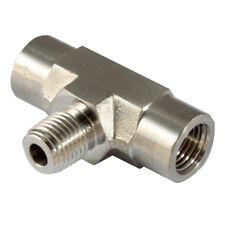"""316 Precisión conectores de tuberia - 1/8"""" Npt M/F 316 RAMAL T 1-11095"""