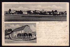 73336 AK Wendischbaselitz Gasthof Erbgericht 1905 Kamenz
