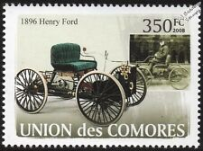 1896 Henry FORD Quadricycle (Horseless Carriage) Vehicle Car Stamp