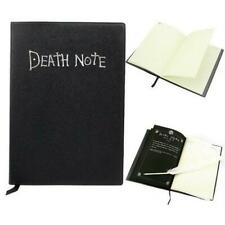 Death Note Cosplay Notebook W/ Feather Pen Book Anime Theme Writing Journ Top