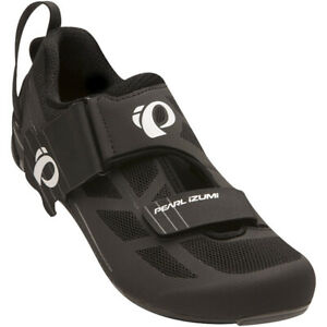 PEARL iZUMi Men's Tri Fly Select V6 Bicycle Cycle Bike Shoes Black / Grey