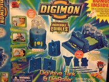 NIB 2000 Digimon Incredible Edibles with Limited Edition Digi Battle Game Card