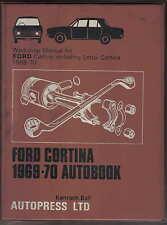 FORD Cortina 1969-70 1300 1600 1600E GT & LOTUS proprietari Officina Manuale autobook