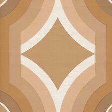 1970s MINIMALIST GEOMETRIC VINTAGE Original 60s 70s Retro Modern Brown