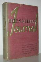HELEN KELLER'S JOURNAL / 1st Edition 1938