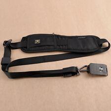 Professional Quick Rapid One Shoulder Camera Belt Sling Neck Camera Strap Black