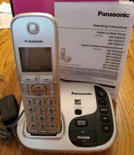 Panasonic KX-TGD220N Expandable Phone Digital Cordless Answering System Talk ID
