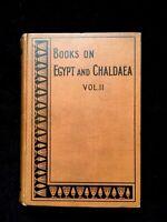 Egyptian Magic: Books On Egypt and Chaldaea Wallis Budge 1899 RARE OCCULT MAGIC