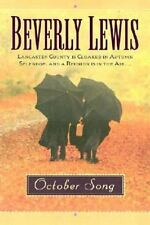 The Heritage of Lancaster County October Song Beverly Lewis Paperback Large Type