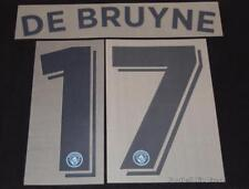 Manchester City De Bruyne 17 Football Shirt Name/Number Champions League 2016/17