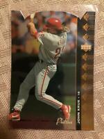 1994 SP Die-cut John Kruk #138 Philadelphia Phillies Rare SP Insert