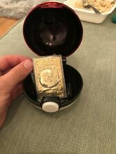 BURGER KING EXCLUSIVE POKEMON JIGGLYPUFF 23k GOLD TRADING CARD W/POKEBALL
