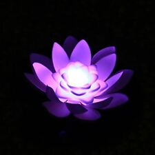 Led Floating Lily Pad Lights Purple Color-changing lights Fast shipped from Ga