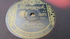 BING CROSBY & THE ANDREW SISTERS GO WEST YOUNG MAN & TALLAHASSEE BRUNSWICK 03822