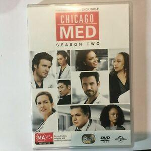 CHICAGO MED SEASON 2 - DVD 6 DISCS - R4 - VGC - FREE POST
